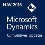 Resumen de los últimos Cumulative Update para Microsoft Dynamics NAV - Octubre 2016