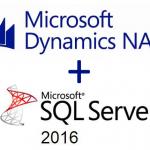 Ya puedes utilizar Microsoft SQL Server 2016 con Dynamics NAV