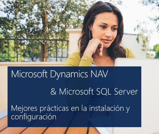 Mejores prácticas para instalar Microsoft SQL Server con Dynamics NAV