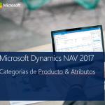 Dynamics NAV 2017, rediseño de la funcionalidad de Categorías de Producto