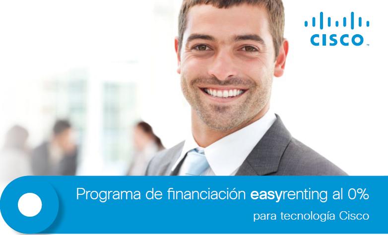 Programa de financiación para tecnología Cisco