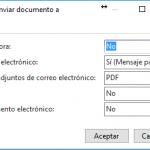 Perfil de envío de documentos en Dynamics NAV