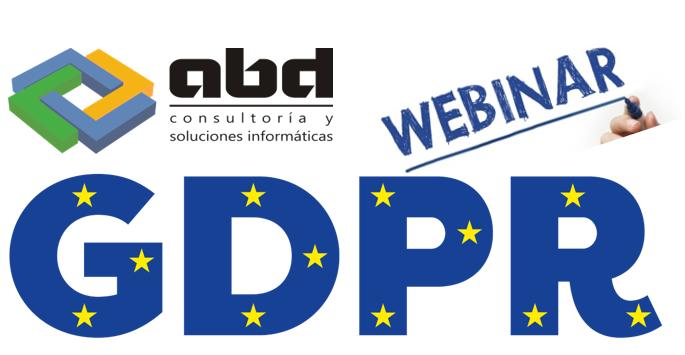 GDPR Webinar Especial Protección de Datos GDPR