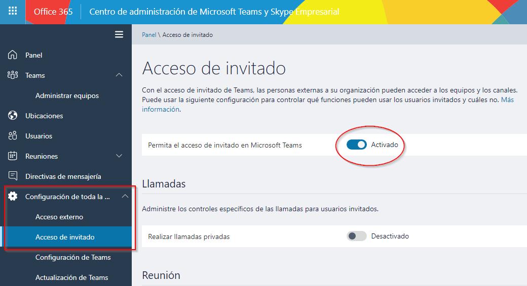Píldora para Administradores de Office 365: Permitir o restringir acceso de invitados en Teams
