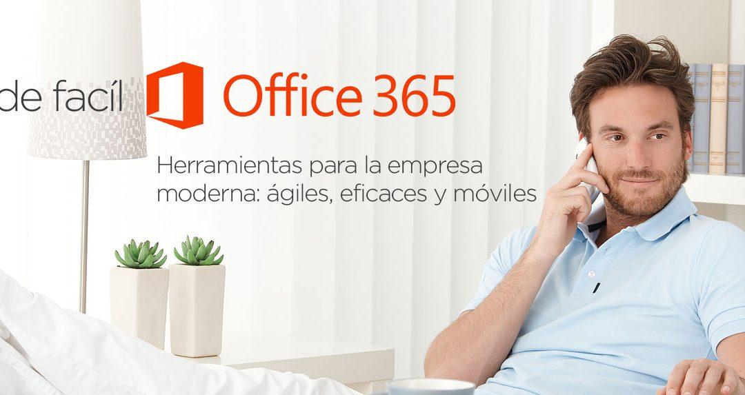 Píldora para Usuarios de Office 365: pantalla de acceso a mis aplicaciones