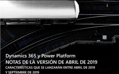 BUSINESS CENTRAL, Nuevas características a partir de Abril 2019