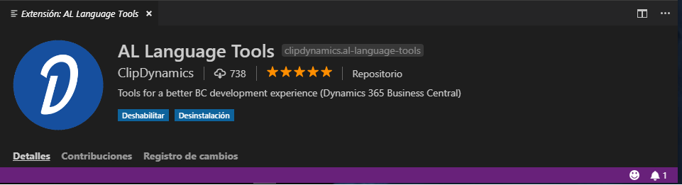 AL Language Tools Extensiones