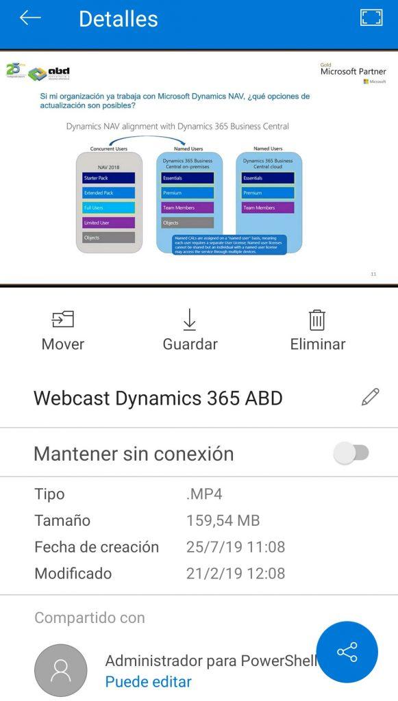 Nuevo rediseño de OneDrive para iOS y Android.