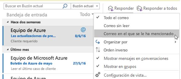 Píldora para Usuarios de Office 365: menciones en Outlook