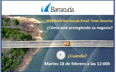 Inscripción webinar Barracuda: Seguridad y protección de datos para Office 365