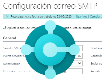 Business Central: Configurando SMTP Mail con Gmail