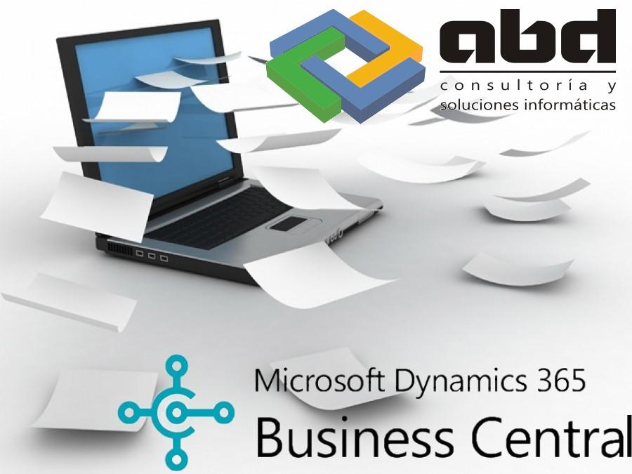Adjuntar documentos a cualquier registro de cualquier tabla en Business Central 365