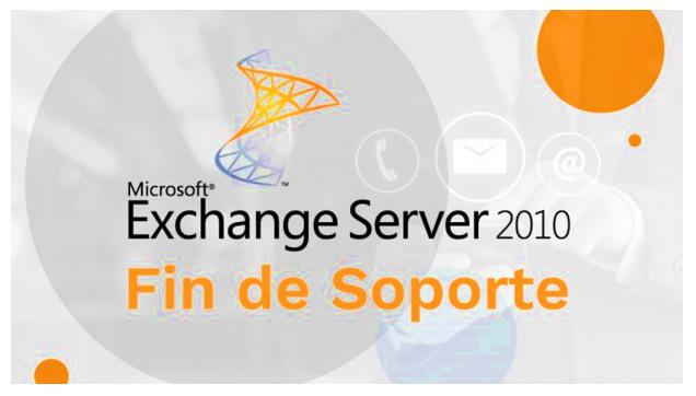 Fin del soporte extendido de Exchange Server 2010