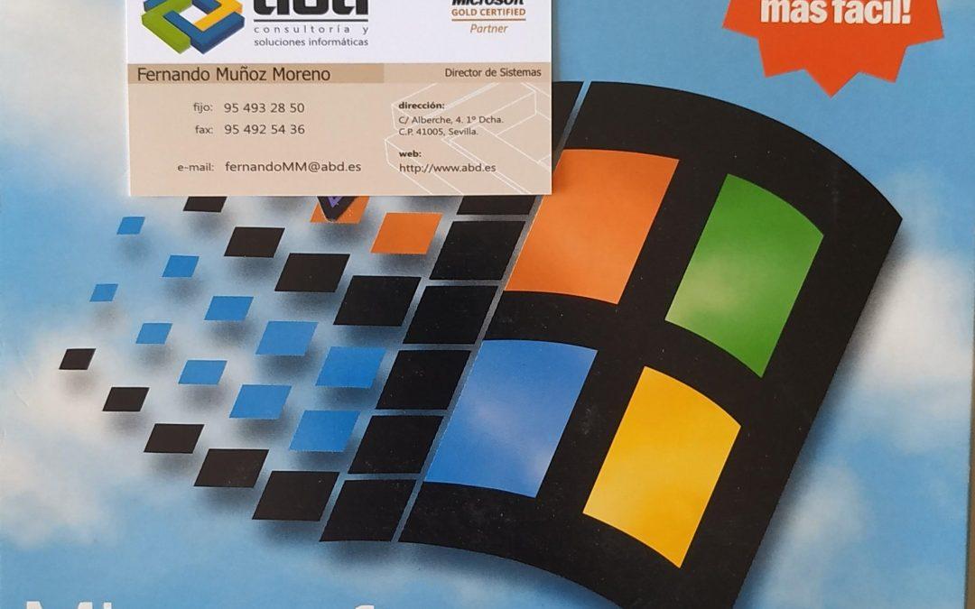 25 Aniversario de Windows 95