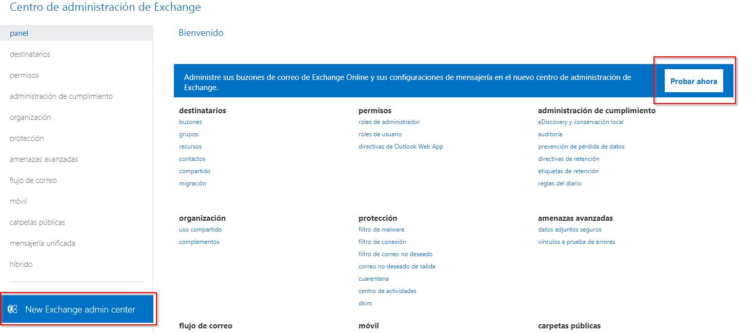 Píldora para Administradores de Microsoft 365: Nuevo Centro de Administración de Exchange
