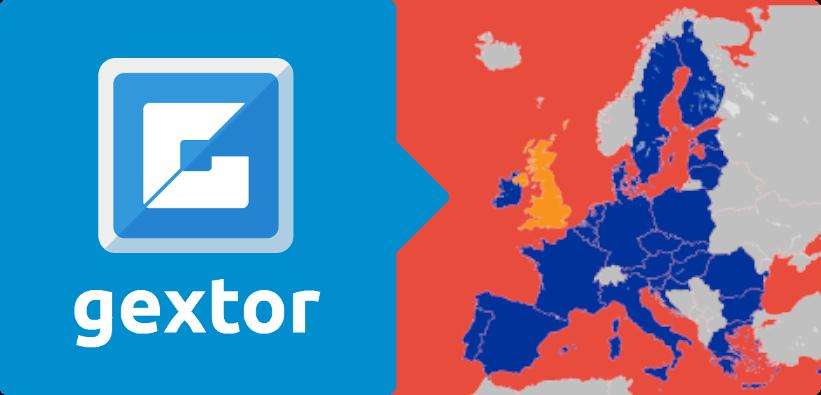 GEXTOR, Salida del Reino Unido de la Unión Europea