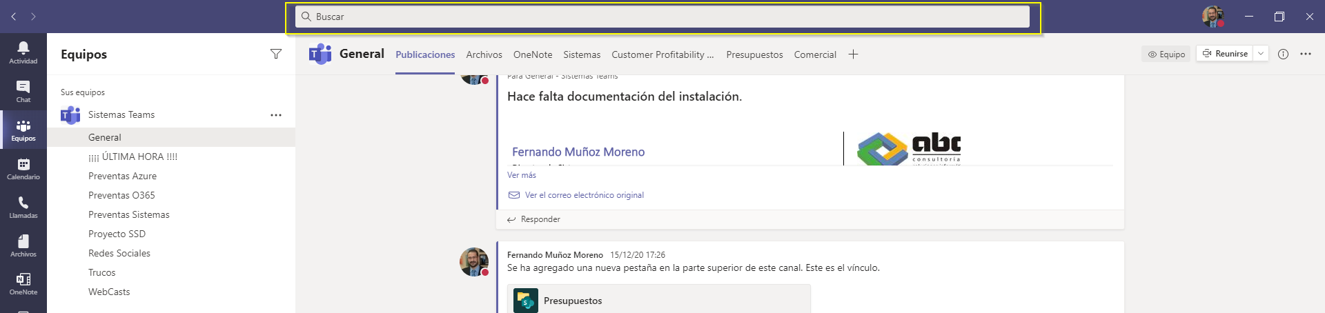 Píldora para Usuarios de Microsoft 365: envío de mensajes rápidos con Teams