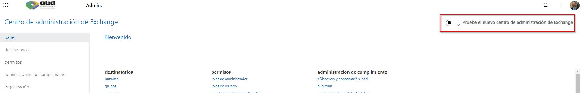 Píldora de Administradores de Microsoft 365: Nuevo Centro de Administración de Exchange.