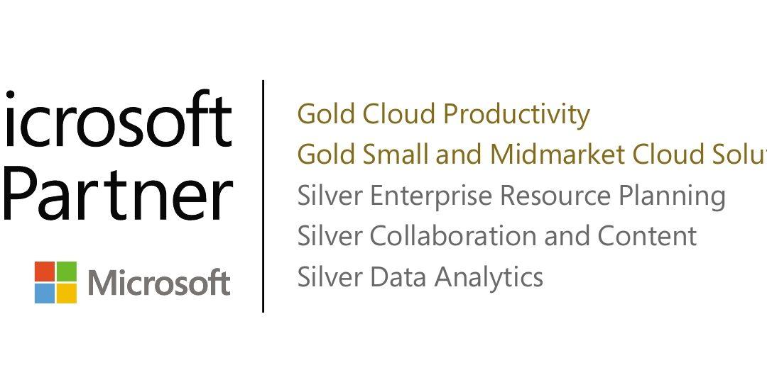 Renovación Microsoft Gold Partner un año más